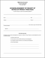 Hipaa acknowledgement form nurufunicaasl hipaa acknowledgement form 8480 imprinted hipaa receipt of notice of privacy practices hipaa acknowledgement form maxwellsz